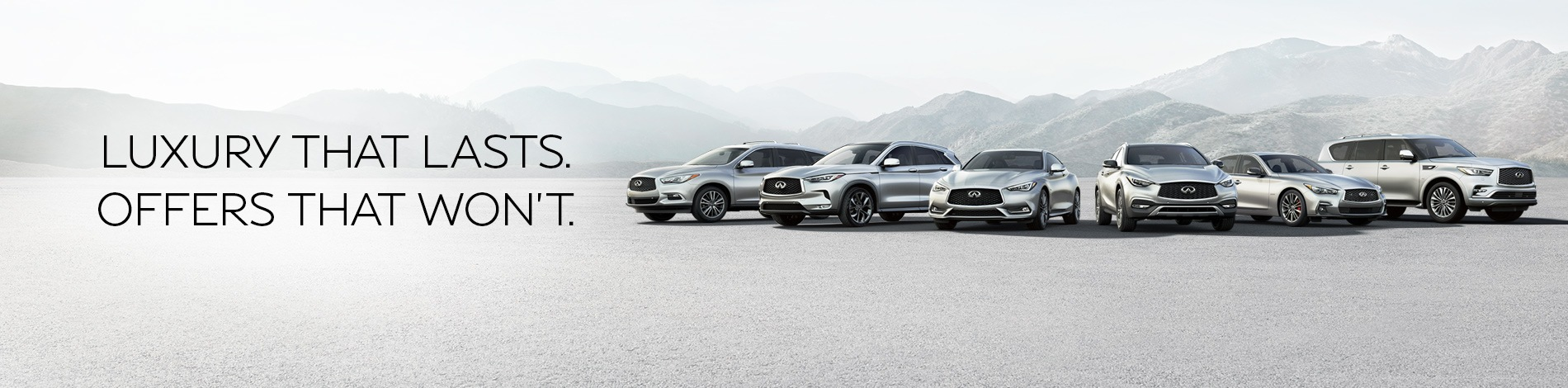 Current Infiniti Offers
