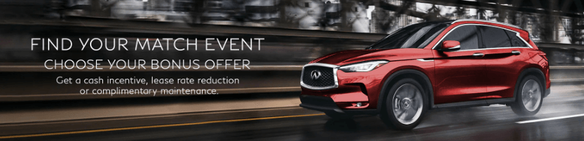 Find Your Perfect Match Event at Markham Infiniti