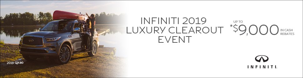 Markham Infiniti Luxury Clearout Event