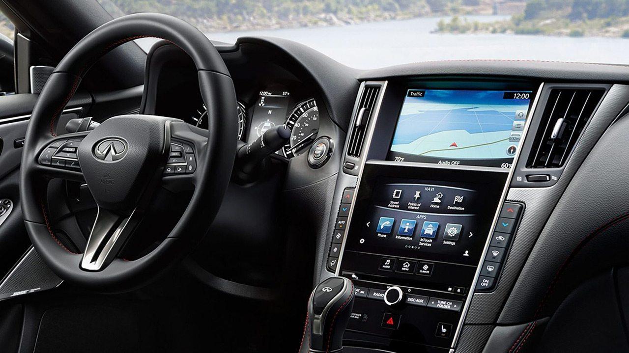 infiniti-q50-red-sport-400-sedan-controls