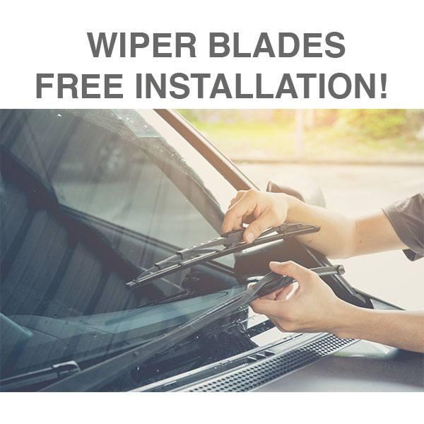 Wiper Blades – Free Installation!