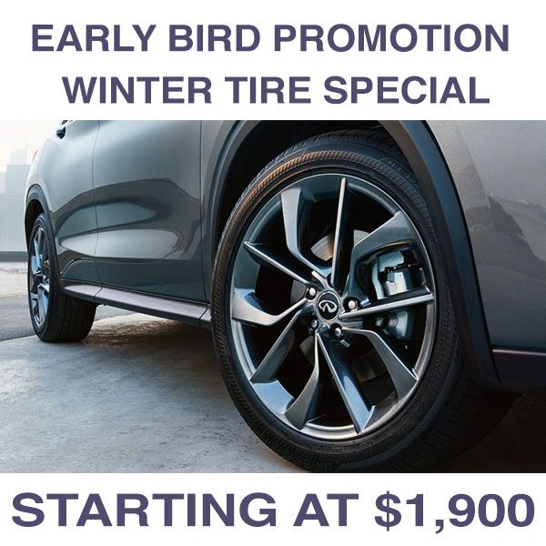 Early Bird Winter Tire Package – Special!