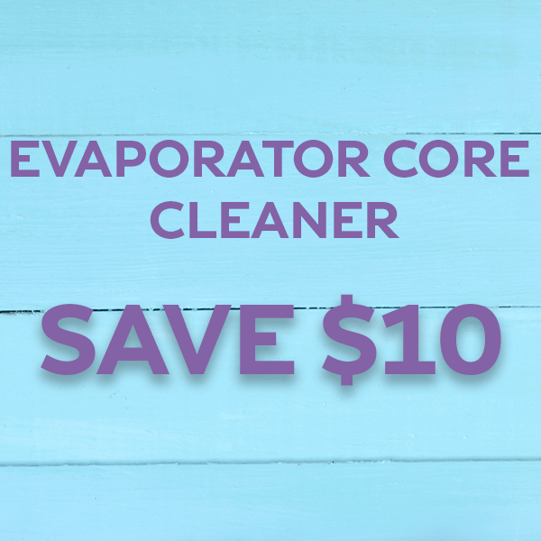 Evaporator Core Cleaner – Save $10!