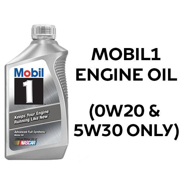 1 Litre bottled Mobil1 Engine Oil (0W20 & 5W30 ONLY)